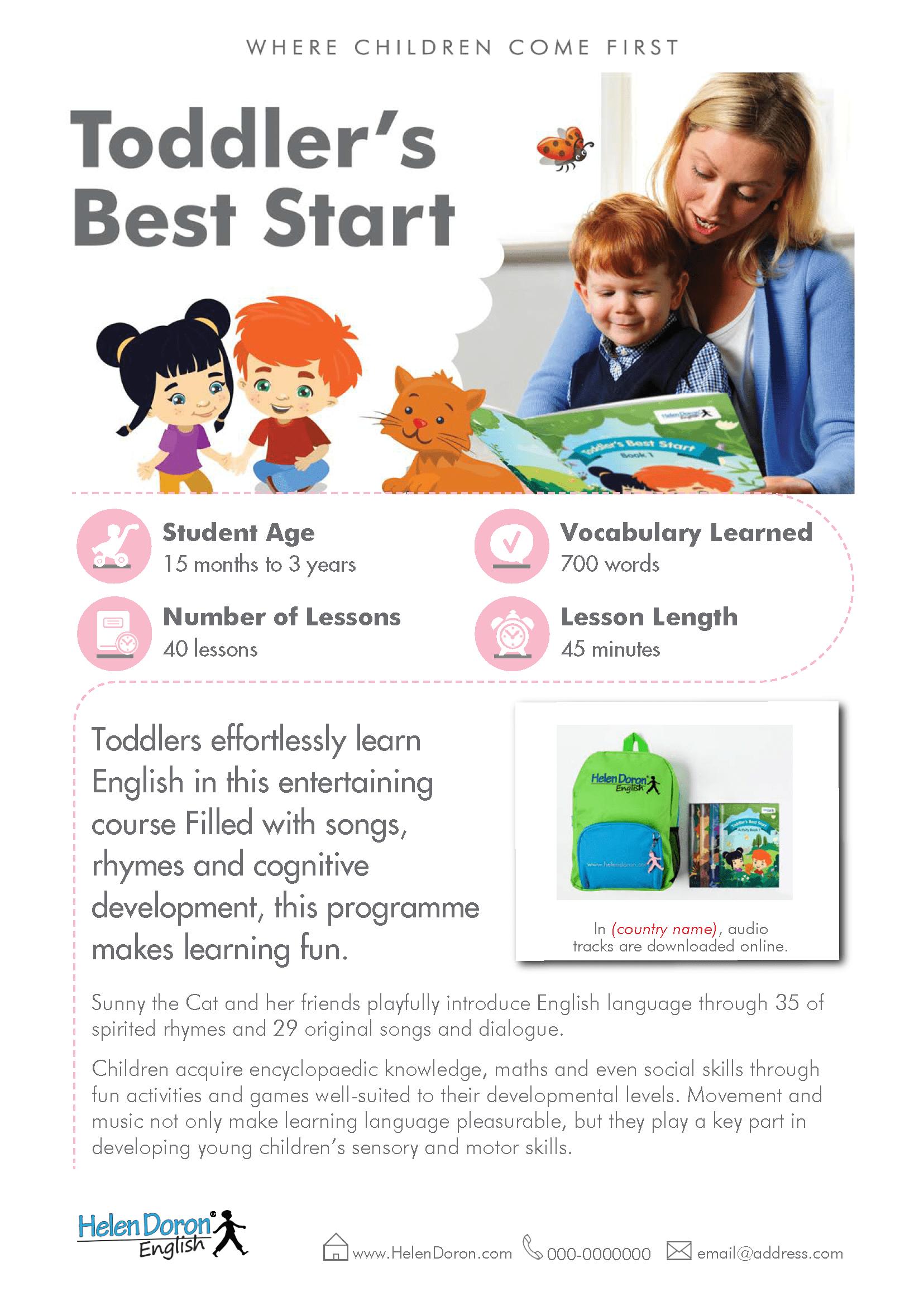 Stiahnuť - Toddler's Best Start
