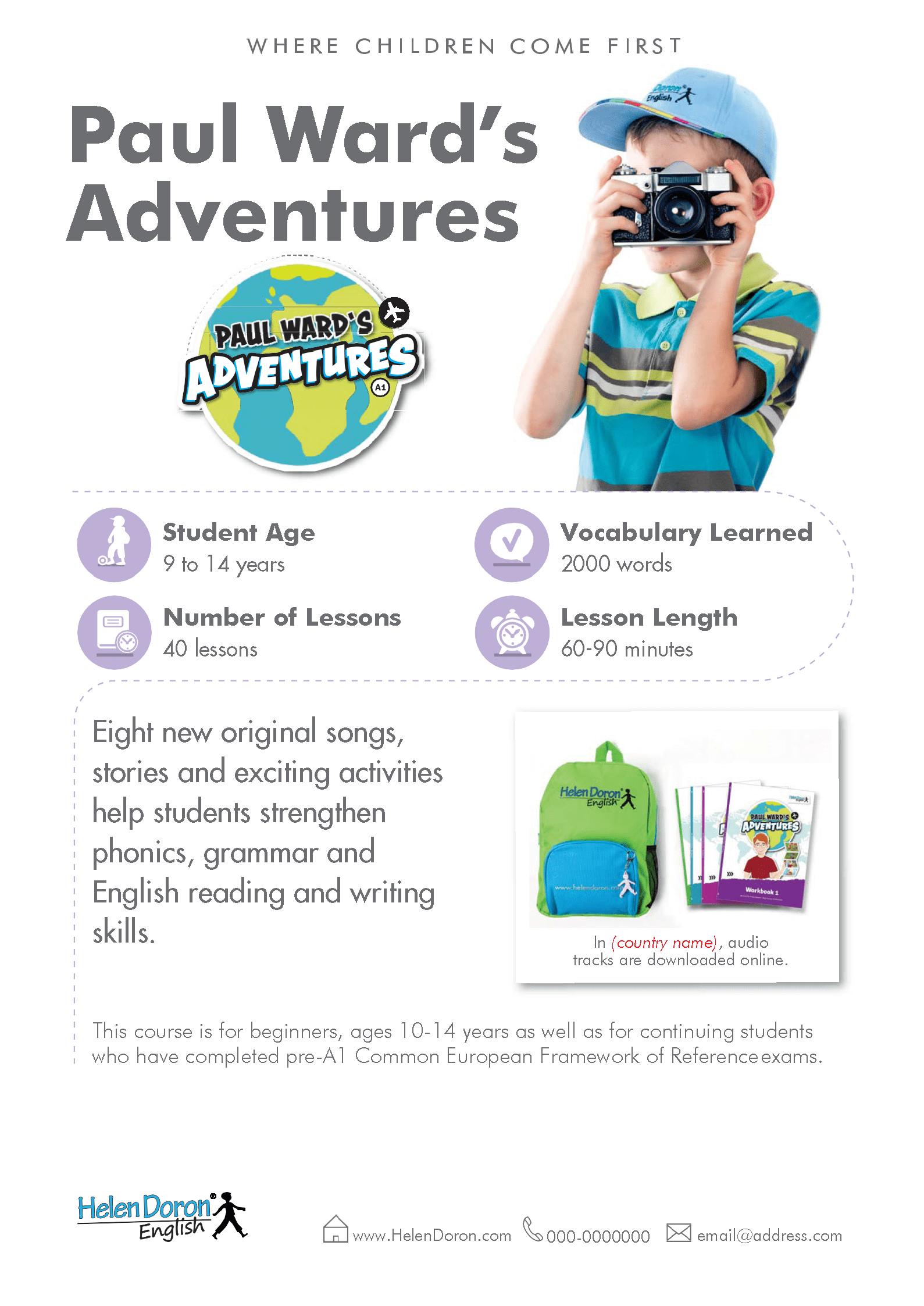Stiahnuť - Paul Ward's Adventures